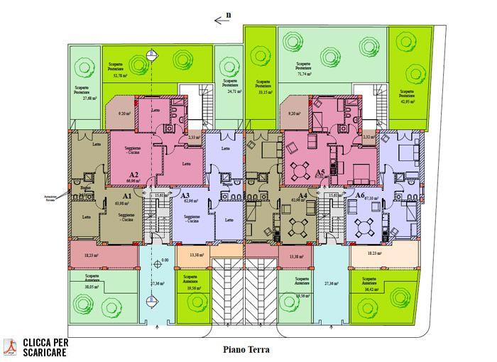 Appartamento Con Giardino Otranto Via Dei Pini Meridionale
